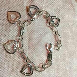 Bracelet heart dungling