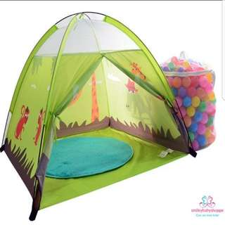 *SALE @ $19.90!*Adorable Animals Tent Play Tent Kids Children Baby Girls Room Decor Play Area Tent Decor Pretend Play Role Play