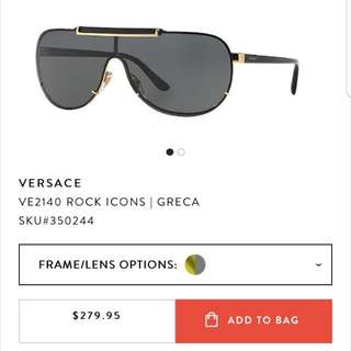 Mens Versace Sunglasses VE2140