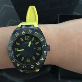 Marc by Marc Jacobs Watch Jam Yellow Kuning