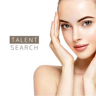 Looking for TALENTS for skincare videoshoot