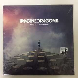 Imagine Dragons - Night Visions ( Vinyl Plaka LP )