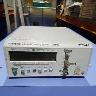 PM 6669 Universal Frequency  Counter 120MHz