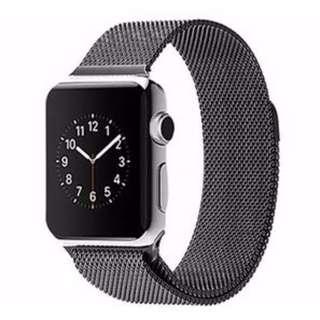 Brand New Black Milanese Mesh Loop Apple Watch Strap