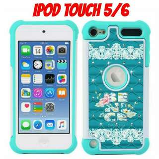 """iPod Touch 5 / 6 """"Be Nice Today"""" Gem Cas"""