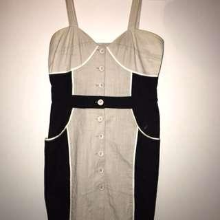 Button up dress