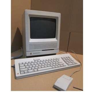 Apple Macintosh SE/30 古董蘋果 麥金塔電腦1989年型號 正常運作
