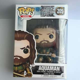 🚚 Funko POP - Movies DC Justice League - Aquaman 205 Toy Figure