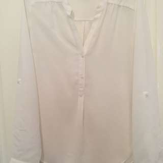 Tokito white blouse