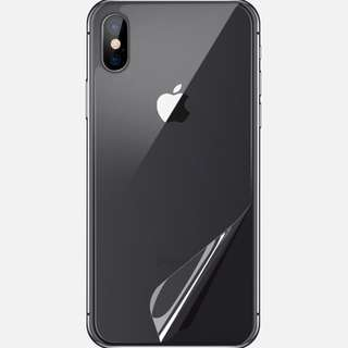 Brand New Apple iPhone X Back + lens protector For Sale!