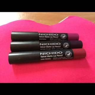 Nichido Velvet Matte Lip Pencil