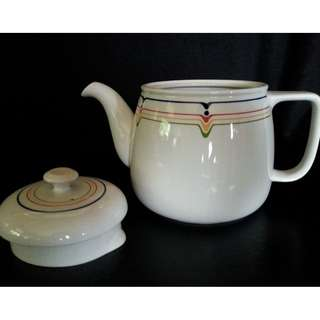 """Teapot & Lid in """"JAZZ"""" by Adams China"""