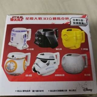 READY STOCKS!!! TAIWAN STAR WARS LIMITED EDITION MUGS - COLLECTIBLES @ $15 PER MUG OR $25 FOR 2 MUGS! LIMITED PCS LEFT!!!