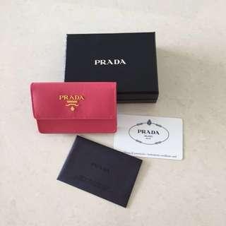 Prada Card Holder Authentic BNIB