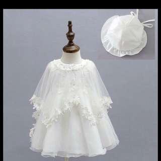 Elegant Baptismal Gown