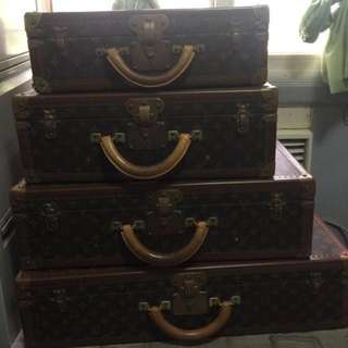 Louis Vuitton LV Bisten/alzer hard luggage (authentic)