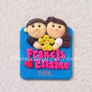 Wedding Ref Magnet Souvenir