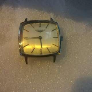浪琴上鏈舊錶