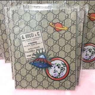日雜OGGI 現貨:MY GUCCI BOOK 經典雙 G 硬殼筆記本