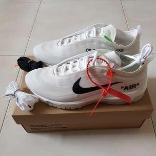Off White Nike Air Max 97 OG  US 8