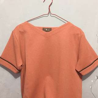 Peach blouse from japan