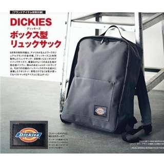 【現貨】日本雜誌附錄 smart 美國品牌 Dickies 上班休閒兩用 肩背包 後背包 書包 運動包 多功能