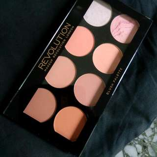 💯 Authentic Makeup Revolution Blush Palette Hot Spice