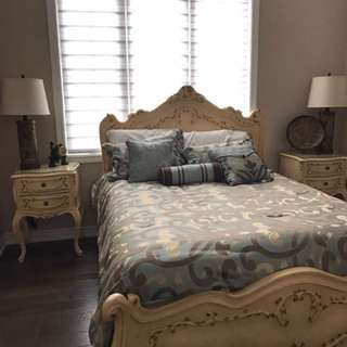 Off White Vintage Bedset
