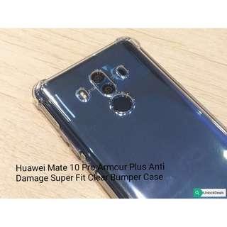 Huawei Mate 10 Pro Armour Plus Super Fit Clear Bumper Case