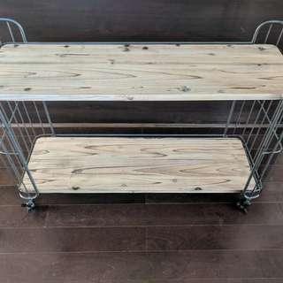 Caddy/ shelving/ bar