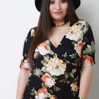 💁🏻Plus Size Floral Tops🔥 ✔️Items are all onhand ✔️1 color only ✔️Fabric: Thick cotto ✔️Size/s: Fits up to Extra Large Body(Free Size)