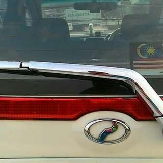 Chrome Rear Wiper Cover