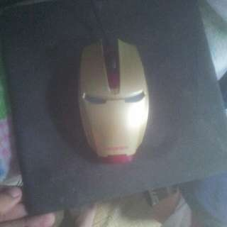 New Iron Man gaming mouse