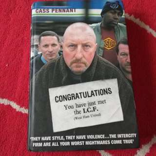 Hardcover Cass Pennant West Ham United