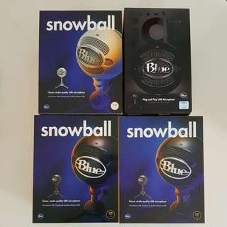 (IN STOCK) Blue Snowball and Blue Snowball iCE