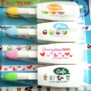 Early Xmas Clearance - Decoration Tape Refill Set