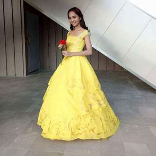 For Rent Belle Costume