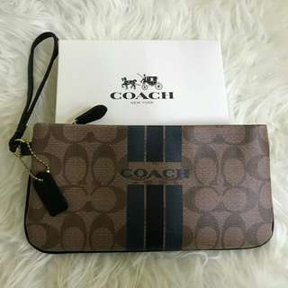 Coach Wristlet Large / ready stock