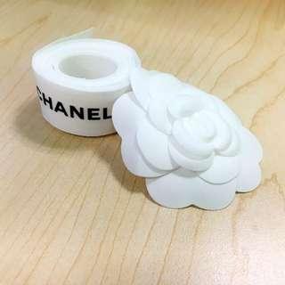 Chanel 2.5cm Ribbon & Camellia