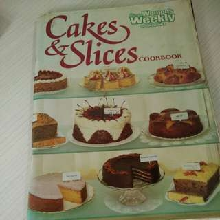 Cook Book cakes and slices