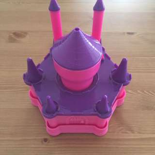 Pink & Purple Castle Kids Dining Set