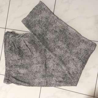 Pants Motif Animal Print