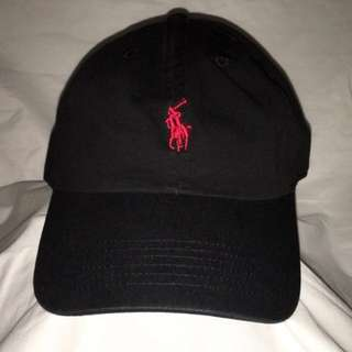 Black Polo hat