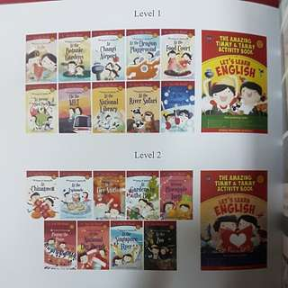 BN Timmy & Tammy's Books series level 1,2,3 &4