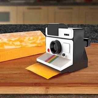 BN novelty camera cheese slicer Polaroid design