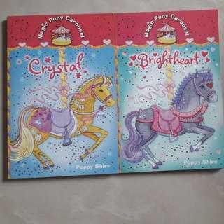 Magic Pony Carousel series by Poppy Shire