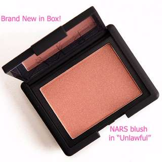 New! NARS Blush in Unlawful RRP $44.00