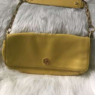 REPRICED: Tory burch yellow