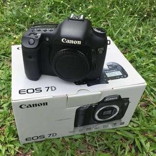 Canon 7d sc28k (nego)