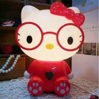 Hello Kitty LampShade with Glasses